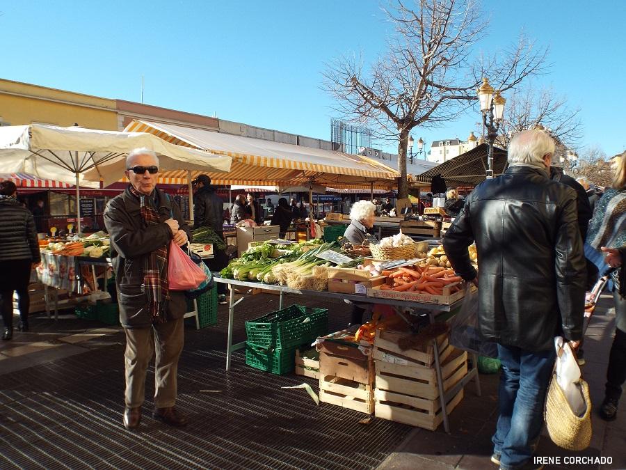 Fin de semana en Niza_mercado Cours Saleya