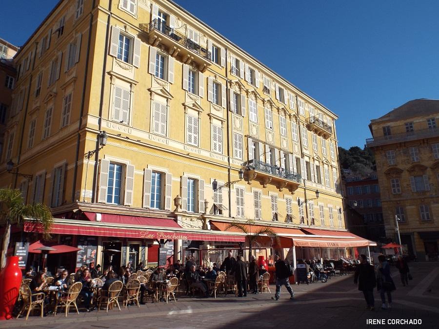 Fin de semana en Niza_place du Palais