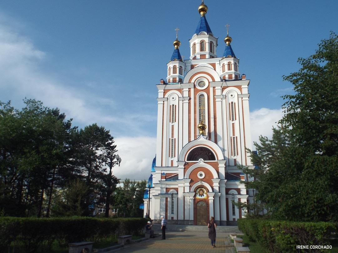 catedral de la Asuncion, Jabarovsk, Rusia