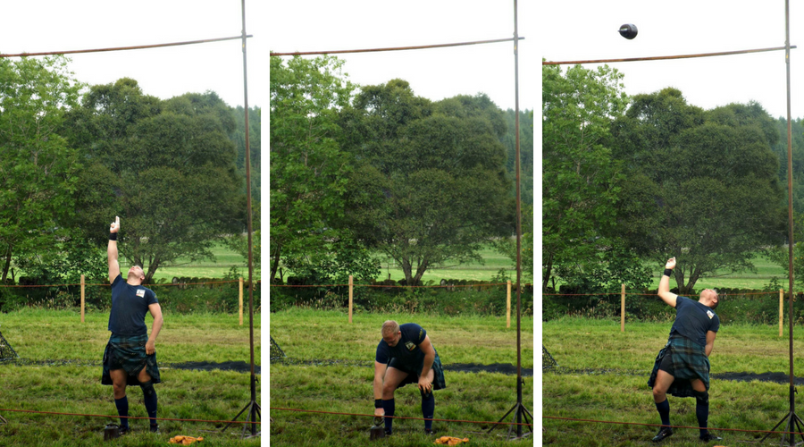 Highland Games_Throwing the weight over the bar