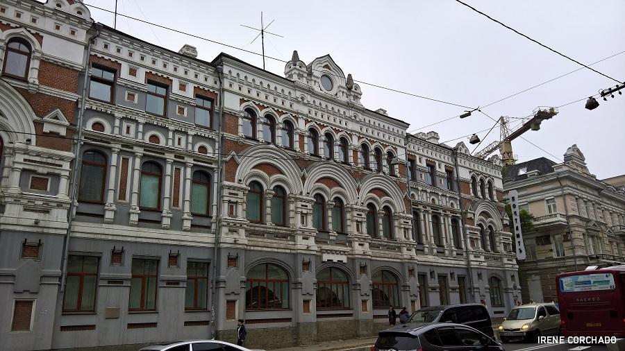 edificio en Svetlanskaya, Vladivostok, Rusia