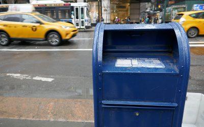 Amarillo y azul: fotos de Nueva York